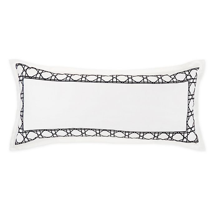 Alternate image 1 for Wamsutta® Atlantis Embroidered Lumbar Pillow