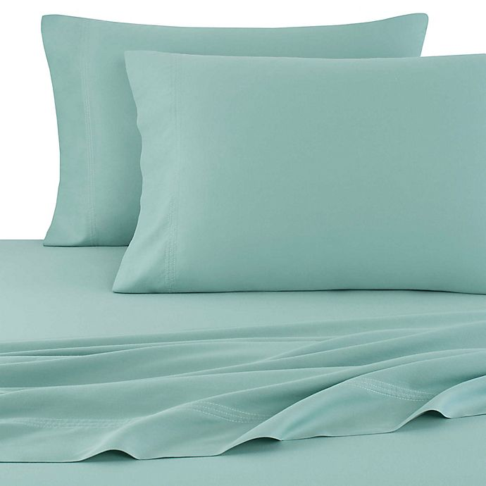 Alternate image 1 for UGG® Surfwashed Cotton Garment Washed King Pillowcases in Agave (Set of 2)