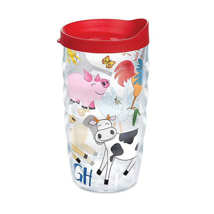 Alternate image 1 for Tervis® Farm Animals 10 oz. Wavy Wrap Tumbler with Lid