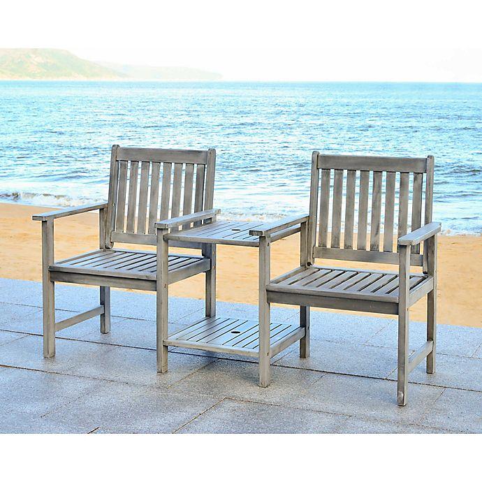 Alternate image 1 for Safavieh Bread Twin Seat Bench