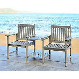 Safavieh Bread Twin Seat Bench