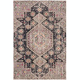 Safavieh Montage Sydney Indoor/Outdoor Rug in Black