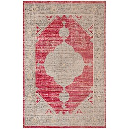 Safavieh Montage Benny Indoor/Outdoor Area Rug in Rose