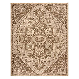 Safavieh Beach House 8' x 10' Weirs Indoor/Outdoor Area Rug in Beige