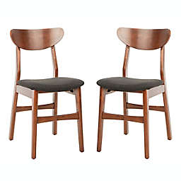 Safavieh Lucca Retro Dining Chairs (Set of 2)