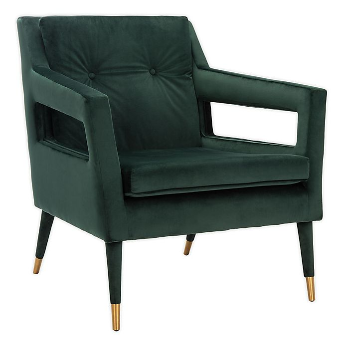 Alternate image 1 for MARA TUFTED ACCENT CHAIR