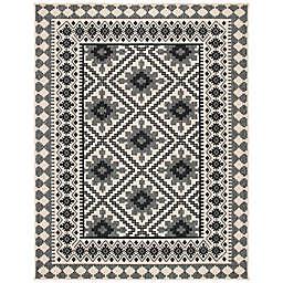 Safavieh Veranda Ronin 8' x 11' Indoor/Outdoor Area Rug in Slate