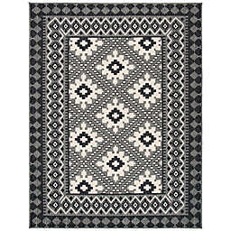 Safavieh Veranda Ronin 9' x 12' Indoor/Outdoor Area Rug in Charcoal