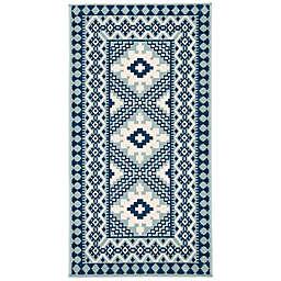 Safavieh Veranda Ronin 2'7 x 5' Indoor/Outdoor Area Rug in Blue