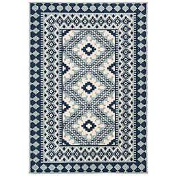 Safavieh Veranda Ronin 5'3 x 7'7 Indoor/Outdoor Area Rug in Blue