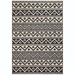 Safavieh Veranda Tucker 6'7 x 9'6 Indoor/Outdoor Area Rug in Grey
