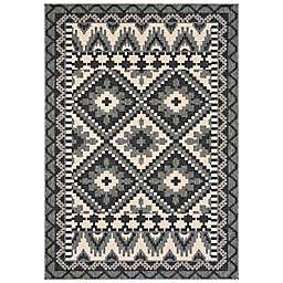 Safavieh Veranda Ross 2'7 x 5' Indoor/Outdoor Area Rug in Grey