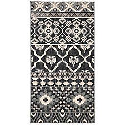 Safavieh Veranda Jay 2'7 x 5' Indoor/Outdoor Area Rug in Grey