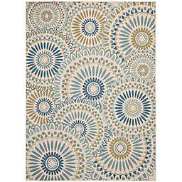 Safavieh Veranda Carter 9' x 12' Indoor/Outdoor Area Rug in Green