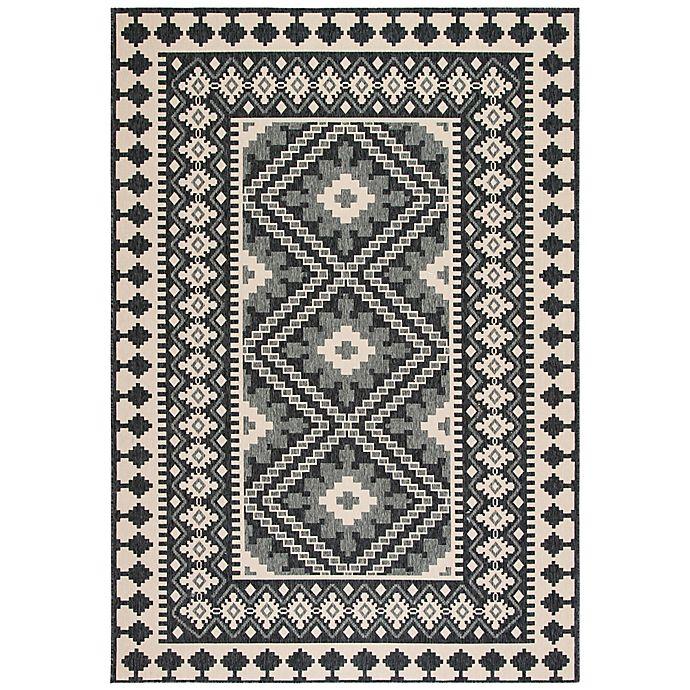 Alternate image 1 for Safavieh Veranda Ronin 8' x 10' Indoor/Outdoor Area Rug in Grey