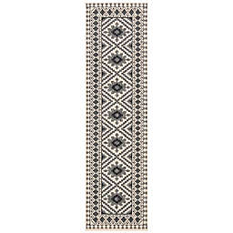 Safavieh Veranda Ronin 2'3 x 6' Indoor/Outdoor Runner in Slate
