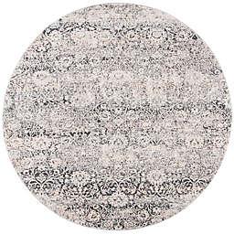 Safavieh Alhambra 6'7 x 6'7 Gabias Area Rug in Cream