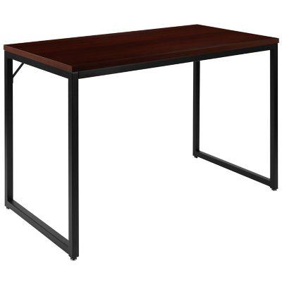 Bed Bath Beyond For Flash Furniture, Flash Furniture Computer Desk With 3 Drawer Pedestal Mahogany