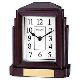 Bulova Empire Mantel Clock in Espresso