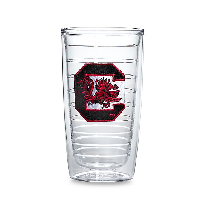 Alternate image 1 for Tervis® University of South Carolina Gamecock 16-Ounce Tumblers (Set of 4)