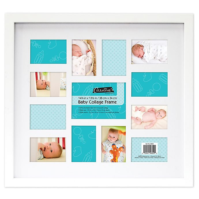 12 Month Baby Collage Frame Bed Bath Beyond