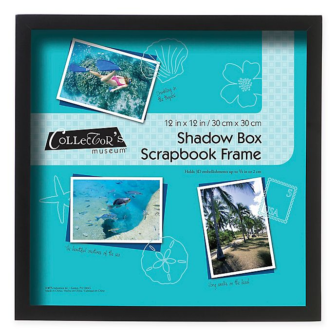 Alternate image 1 for MCS 12-Inch x 12-Inch Shadow Box in Black