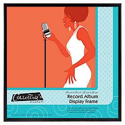 12.5-Inch x 12.5-Inch Record Album Display Frame in Black