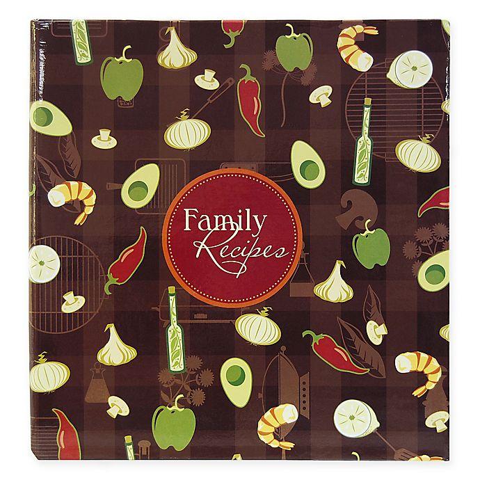 Alternate image 1 for Family Recipes 3-Ring Scrapbook Kit