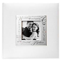 Loving Expressions 200-Photo Metal Frame Wedding Album