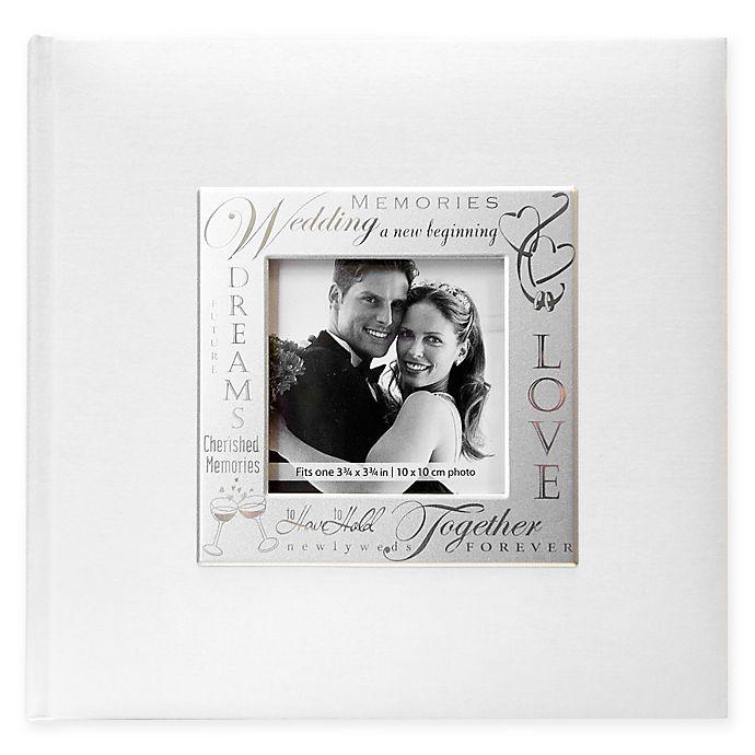 Alternate image 1 for Loving Expressions 200-Photo Metal Frame Wedding Album