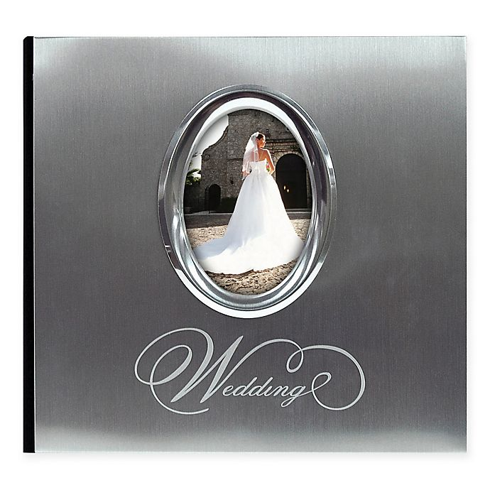 Alternate image 1 for 200-Photo Wedding Album in Silver