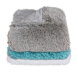 Thro Chubby Faux Fur Throw Blanket