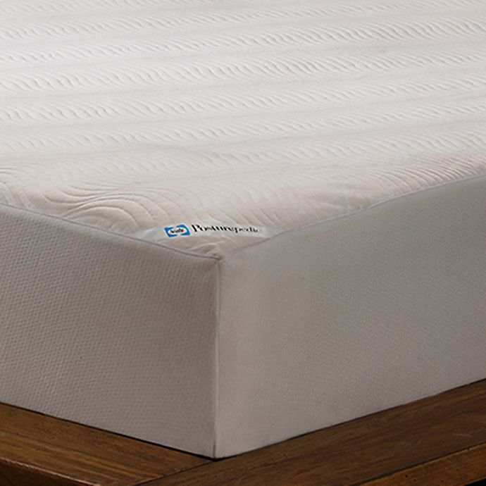 Alternate image 1 for Sealy® Posturepedic Cool Comfort Mattress Cover