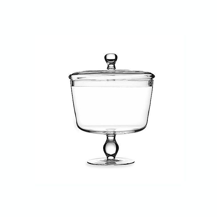 Alternate image 1 for Luigi Bormioli Michelangelo Trifle Bowl with Lid
