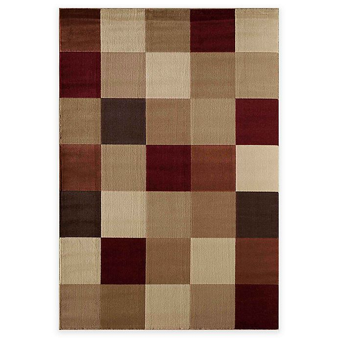 Alternate image 1 for Rugs America Capri Columbia 3-Foot 11-Inch x 5-Foot 3-Inch Area Rug in Red
