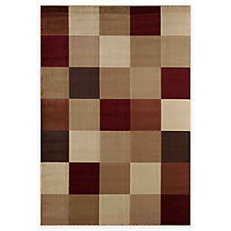 Rugs America Capri Columbia 7-Foot 10-Inch x 10-Foot 10-Inch Area Rug in Red