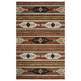 Rizzy Home Southwest Thin Stripe Multicolor Rug