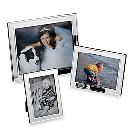 Plain Border Silver Picture Frames