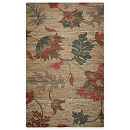 Rizzy Home Whittier Floral Area Rug in Natural