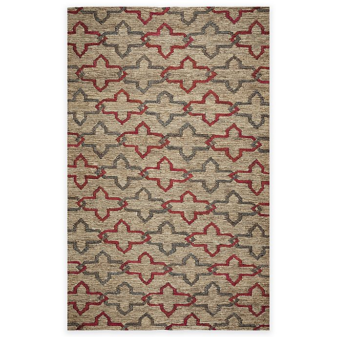 Alternate image 1 for Rizzy Home Whittier Links Area Rug in Natural