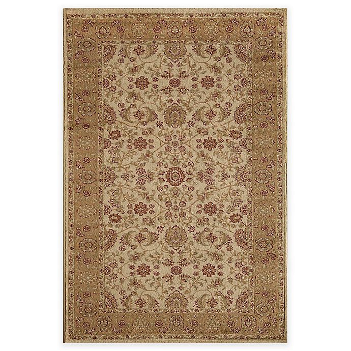 Alternate image 1 for Rugs America Sorrento Tabriz 5-Foot 3-Inch x 7-Foot 10-Inch Area Rug in Beige
