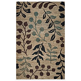 Rizzy Home Whittier Branches Area Rug in Natural