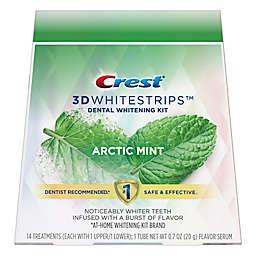 Crest 3D Dental Whitening Strips Kit in Arctic Mint