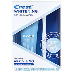 Crest® Whitening Emulsions 0.88 oz. 1-Minute Apply and Go Teeth Whitener with Wand Applicator