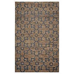 Rizzy Home Whittier Damask Area Rug in Natural