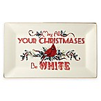 Lenox® Winter Greetings® Home for the Holidays 14.5-Inch Sentiment Platter