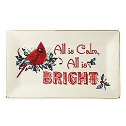Lenox® Winter Greetings® Calm and Bright Sentiment Tray