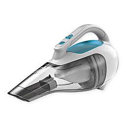 Black & Decker 10.8-Volt Lithium Cordless Handheld Vacuum in White