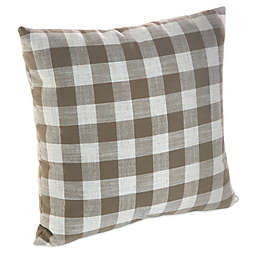 Klear Vu Liza Buffalo Check Square Throw Pillows (Set of 2)