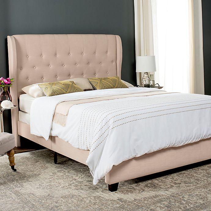 Alternate image 1 for Safavieh Blanchett Upholstered Bed